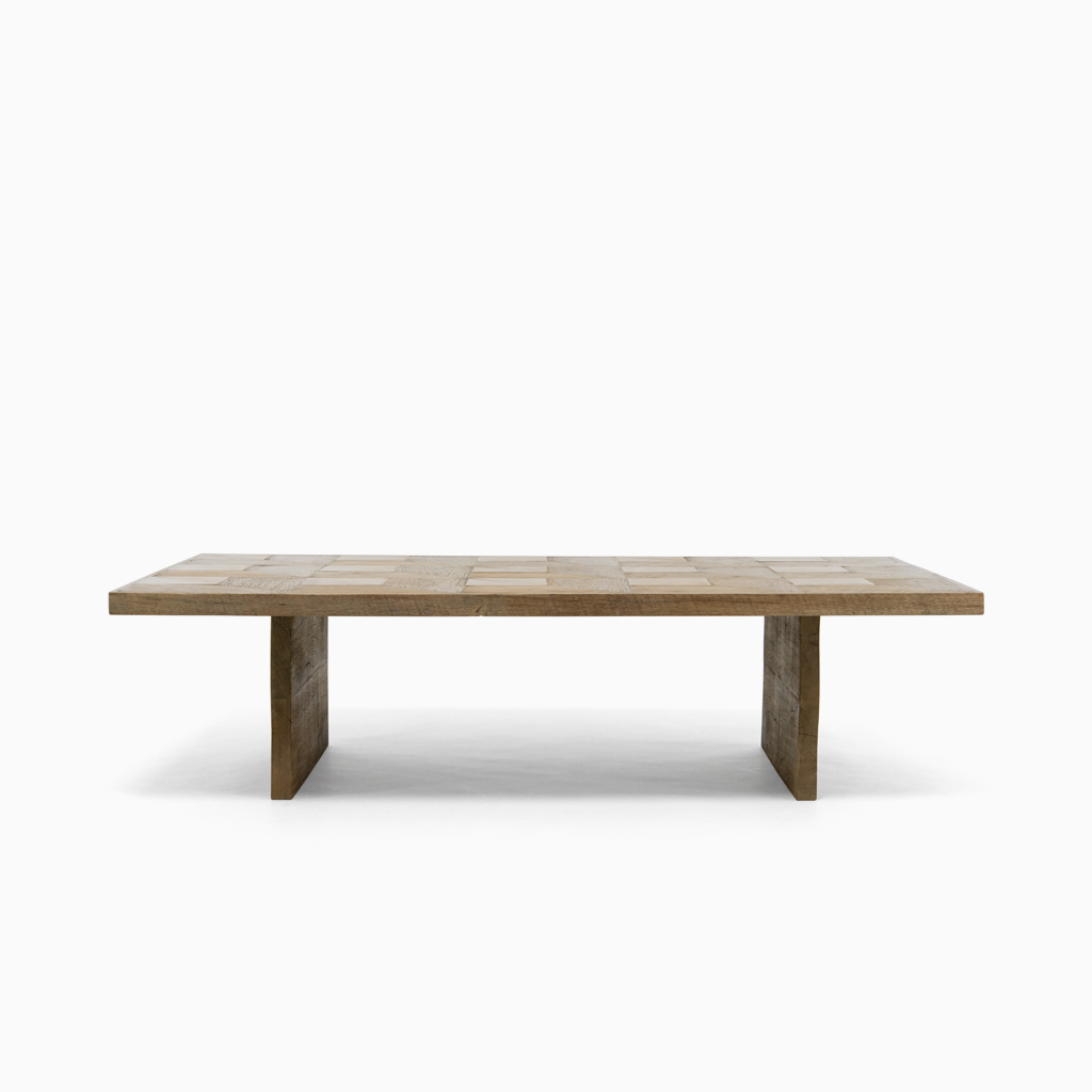 Geometric parquet coffee table demiurge new york geotapseo Image collections